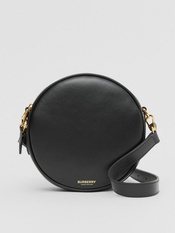 Leather Louise Bag in Black