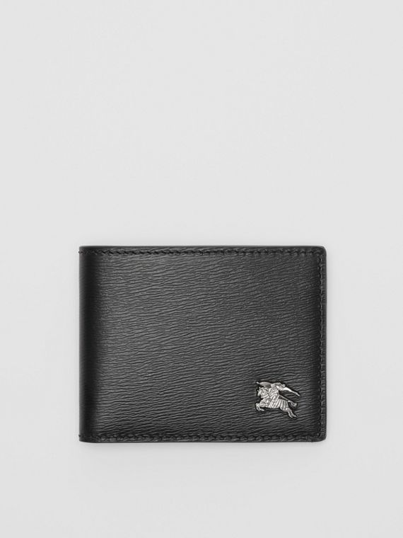 London Leather Bifold Wallet in Black