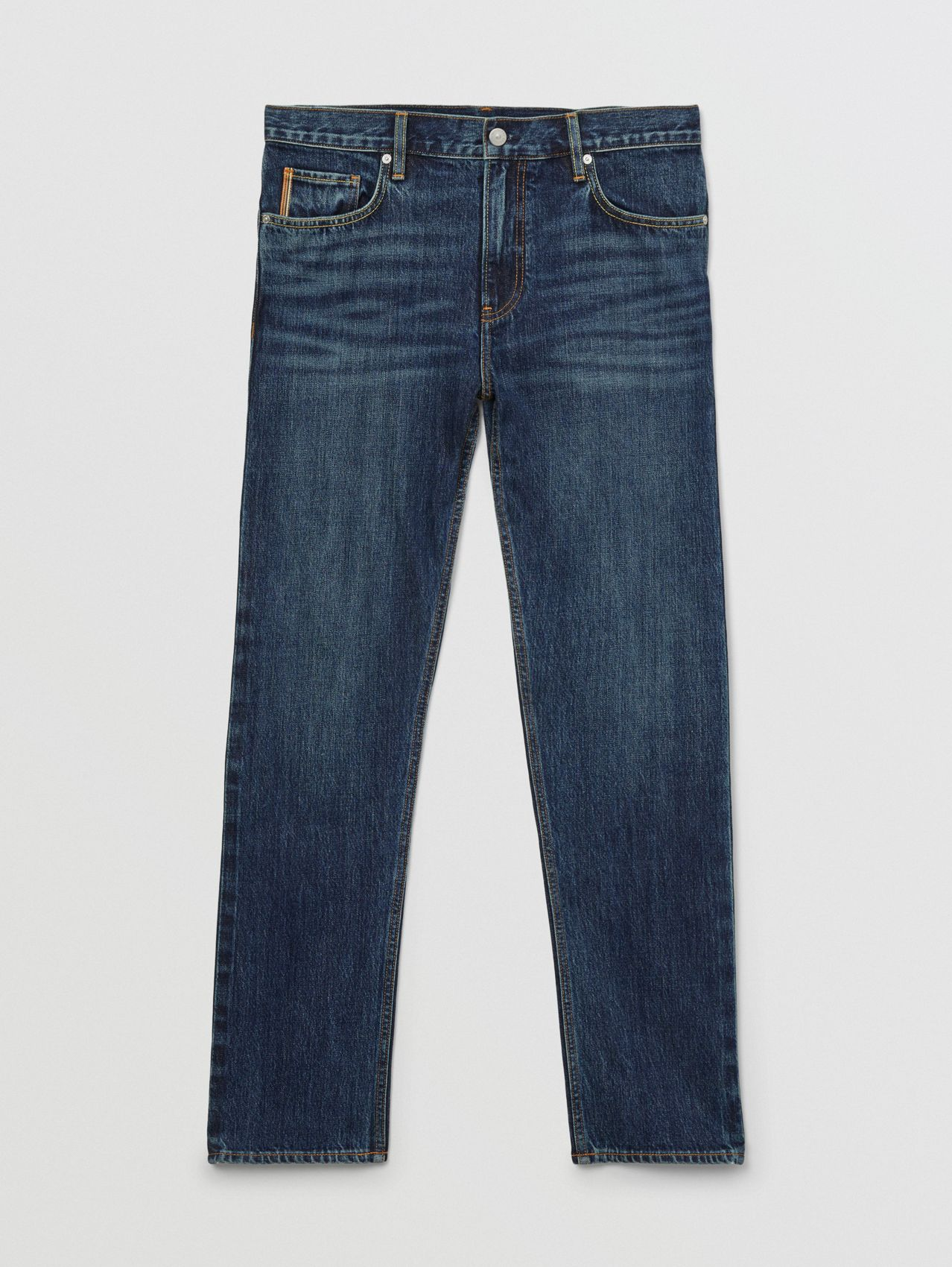 Straight Fit Japanese Selvedge Denim Jeans