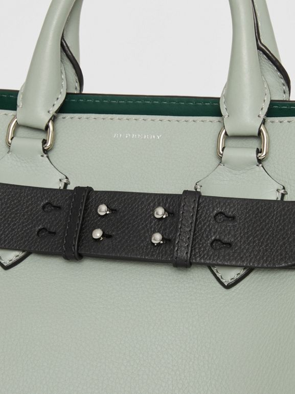 The Medium Belt Bag Grainy Leather Belt in Black - Women | Burberry - cell image 1