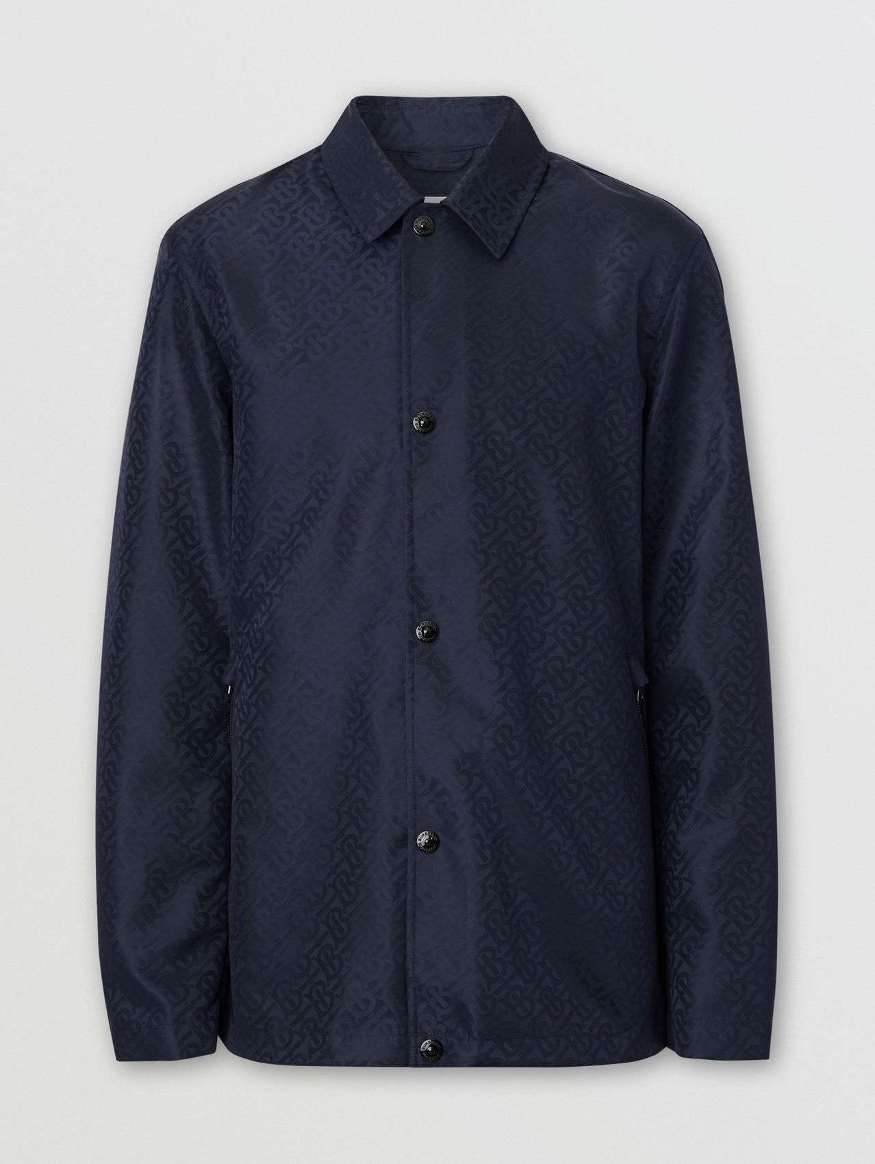 Giacca in ECONYL® con monogramma (Navy)