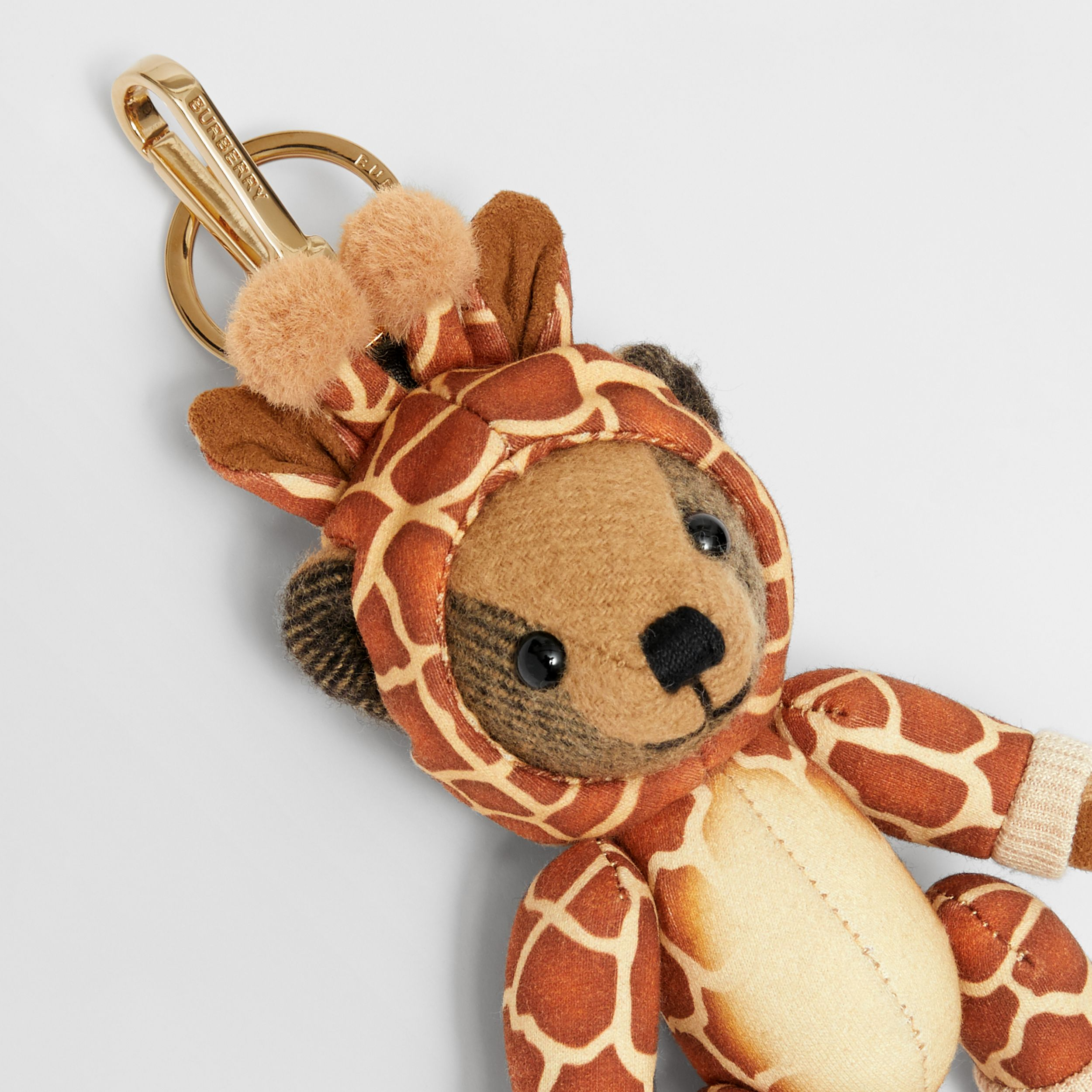 Thomas Bear Charm in Giraffe Costume in Archive Beige | Burberry - 2