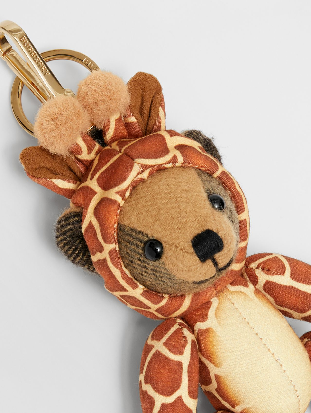 Thomas Bear Charm in Giraffe Costume in Archive Beige