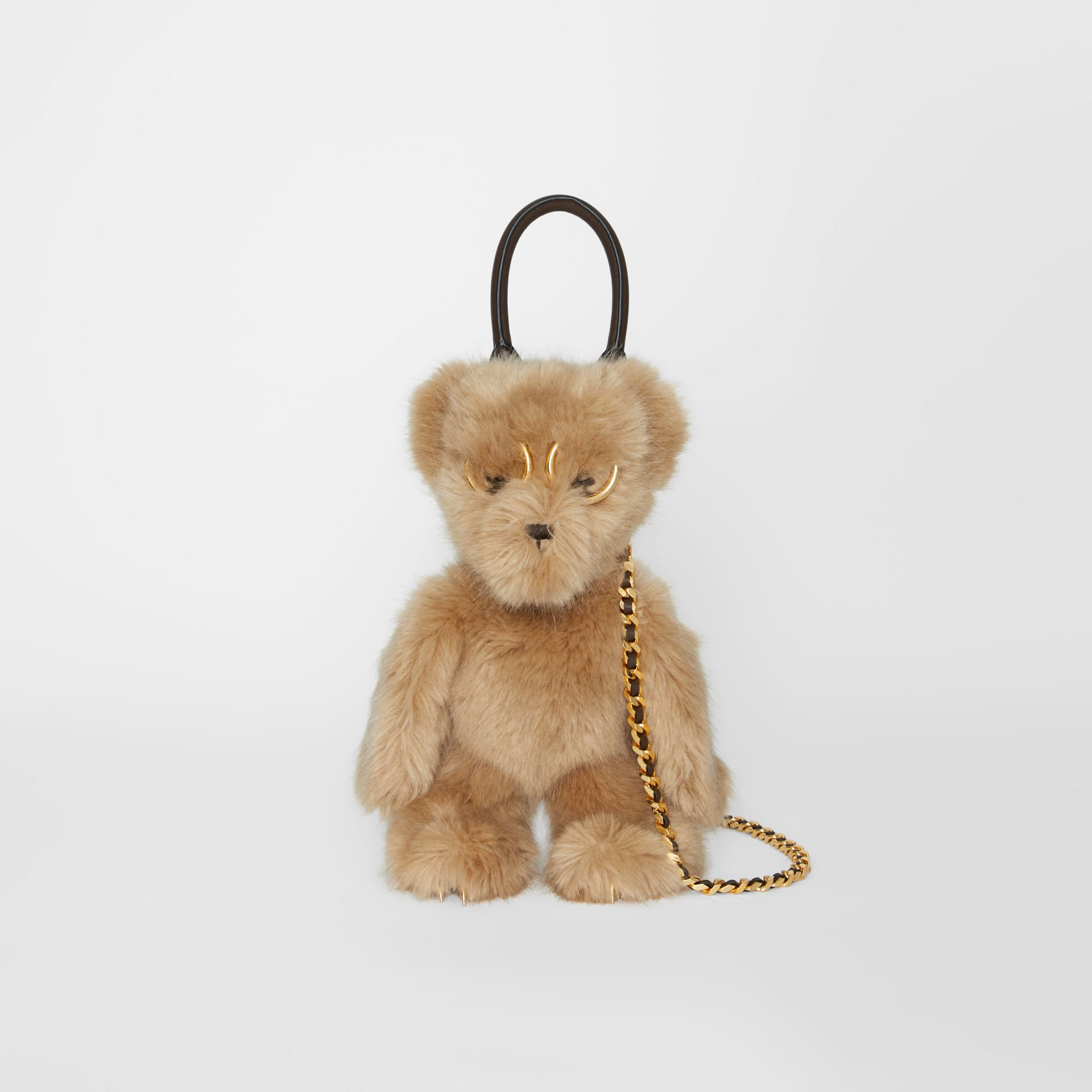 The Thomas Bear Shoulder Bag in Beige - Women | Burberry Australia - gallery image 0