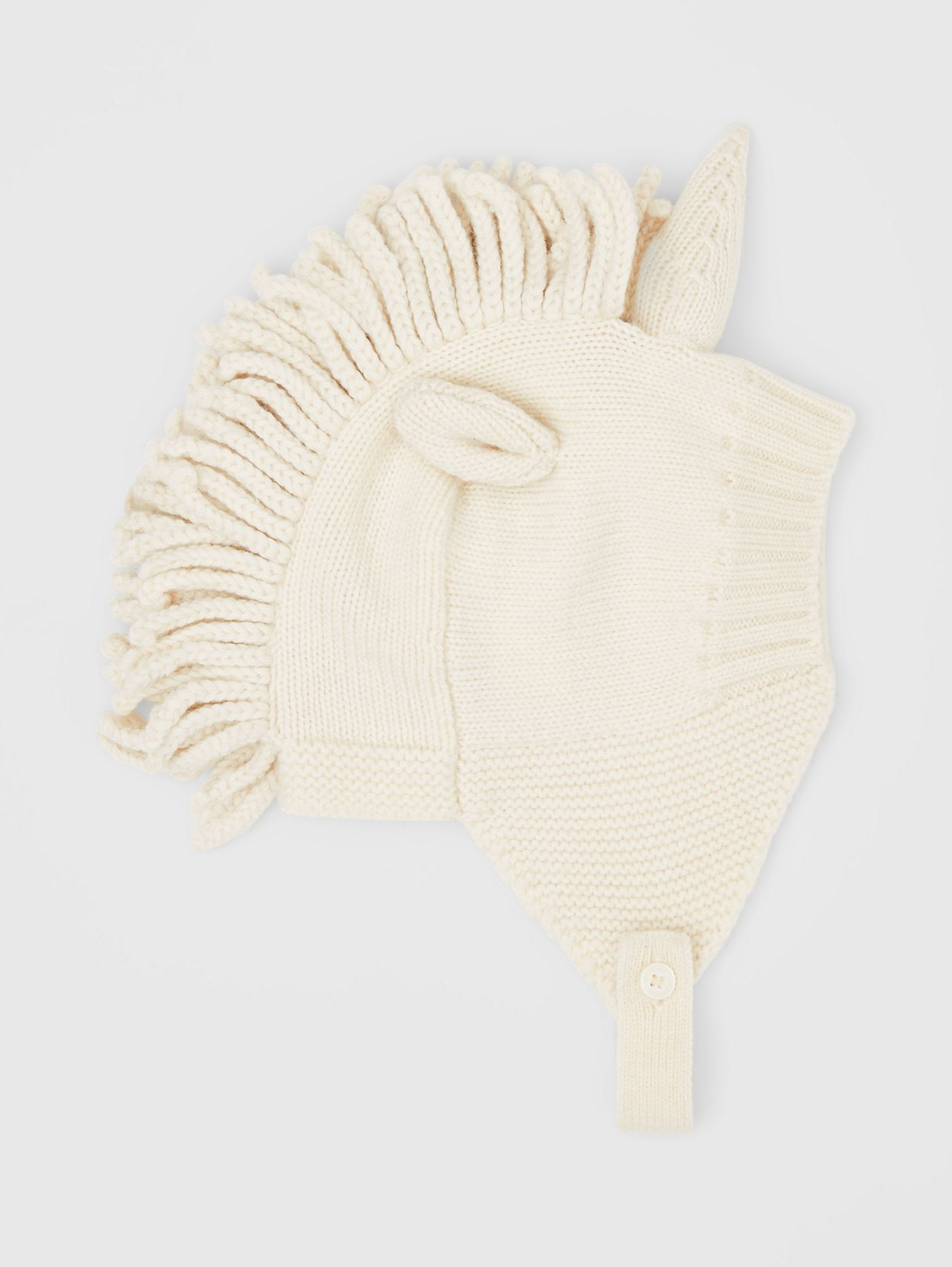 Unicorn Wool Cashmere Hat (Ivory)