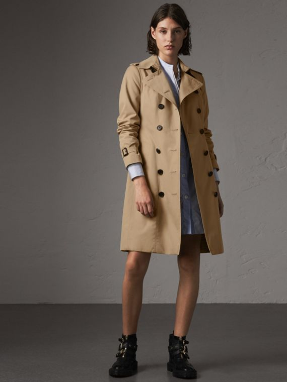 The Sandringham - Trench coat longo (Mel)