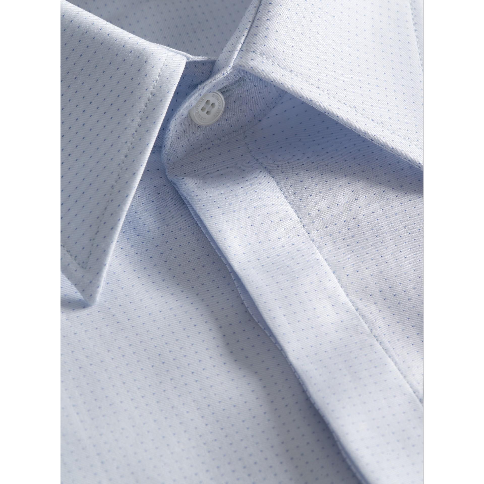 Рубашка современного фасона из хлопка «добби» (Светло-голубой) - Для мужчин | Burberry - изображение 2