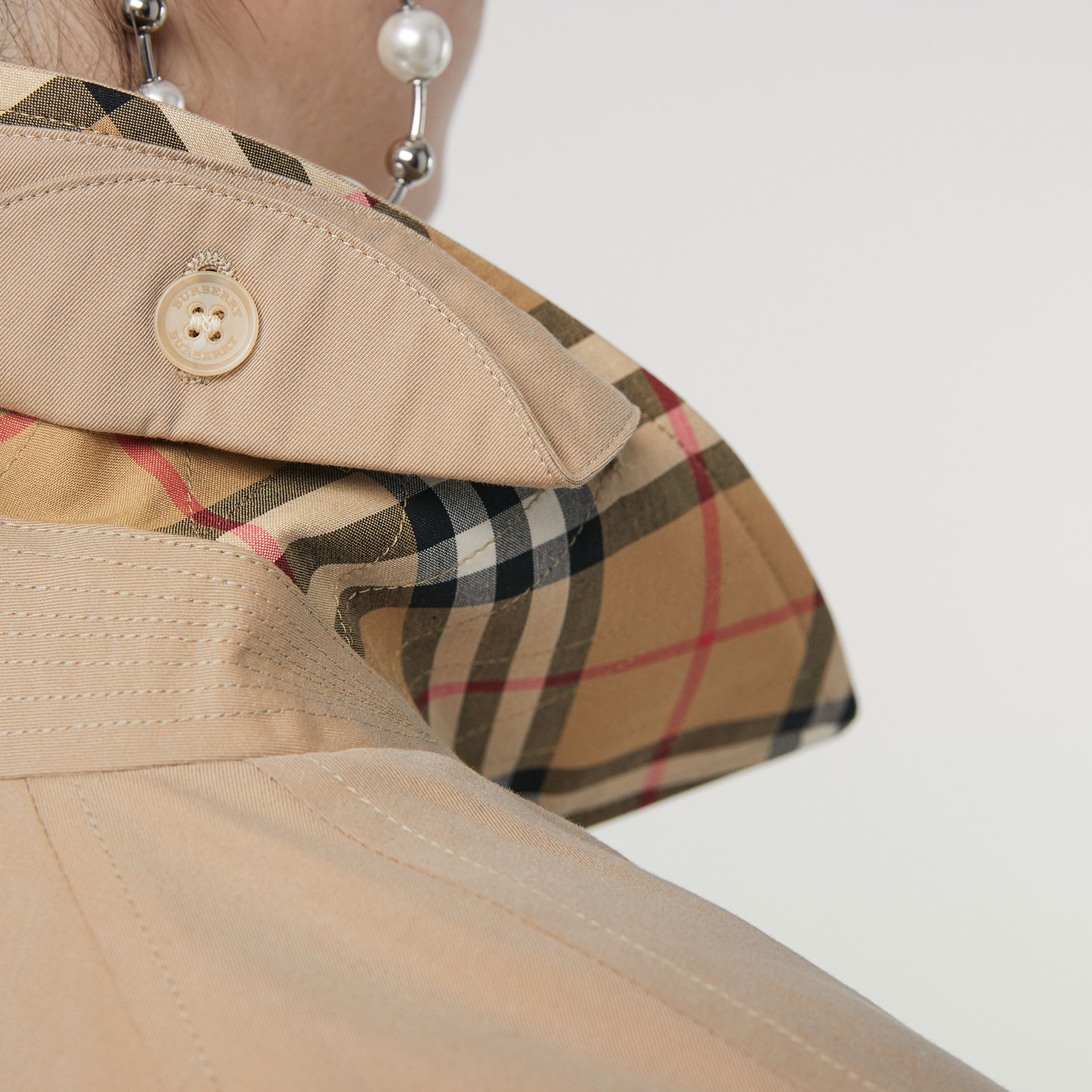 The Camden Car Coat in Honey | Burberry - 2