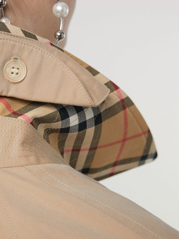 The Camden Car Coat in Honey - Women | Burberry - cell image 1