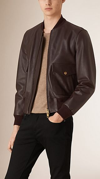 Smooth Leather Blouson