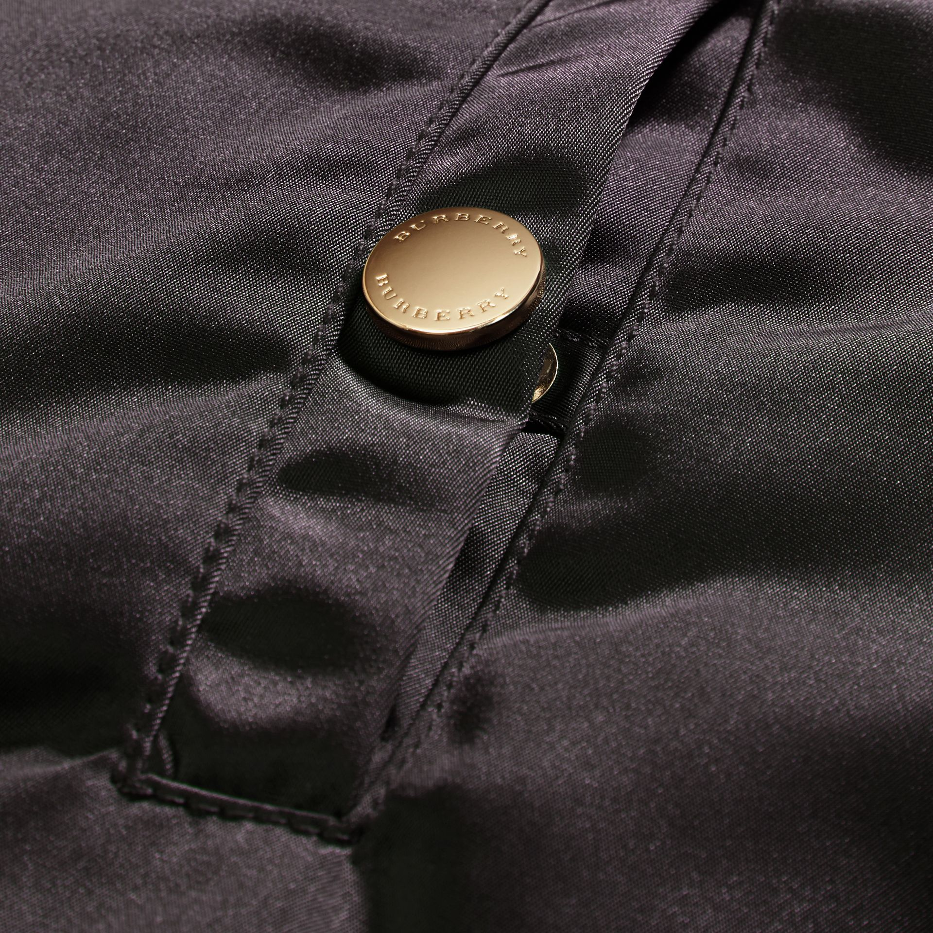 Graphite Cropped Technical Bomber Jacket - gallery image 2