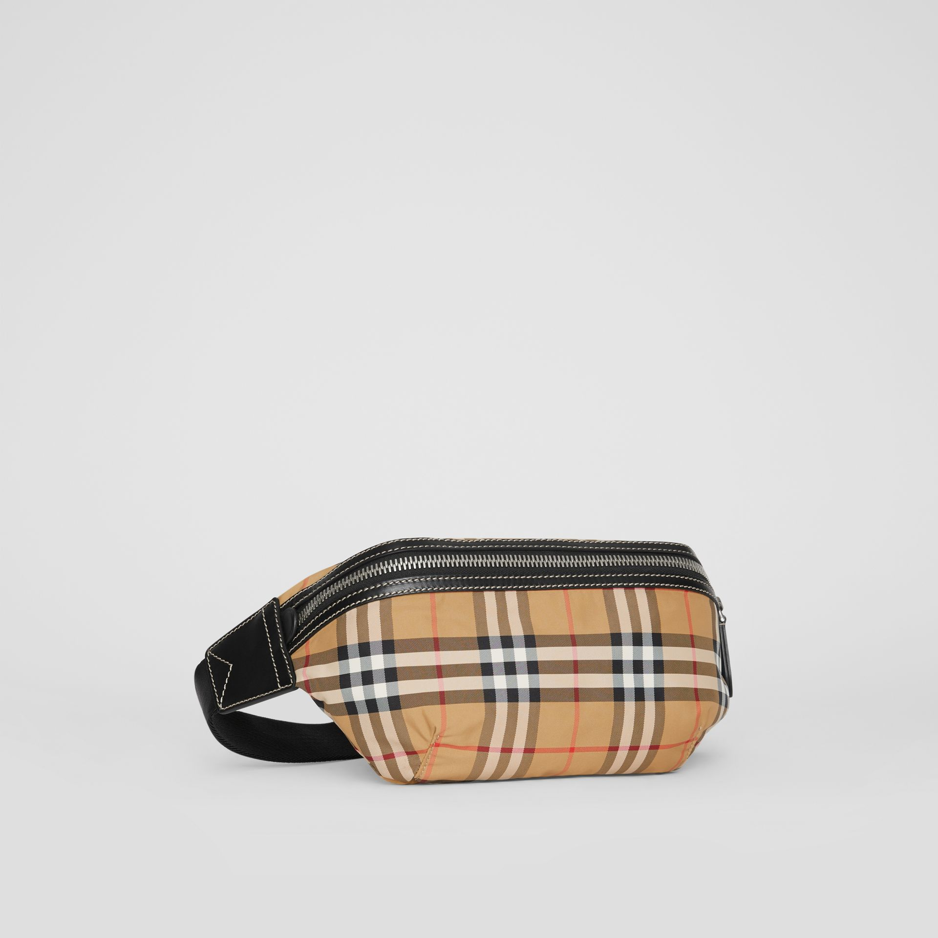 Medium Vintage Check Bum Bag in Antique Yellow | Burberry - gallery image 7