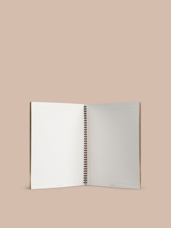 A4 Notebook Refill in Honey | Burberry Singapore - cell image 2