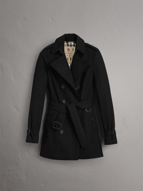 The Sandringham – Trench coat curto (Preto) - Mulheres | Burberry - cell image 3