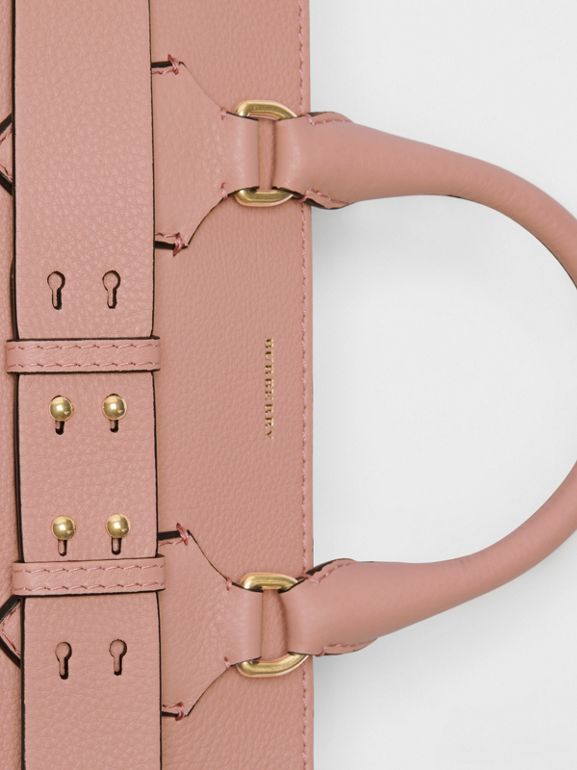 The Medium Leather Belt Bag in Ash Rose - Women | Burberry Singapore - cell image 1