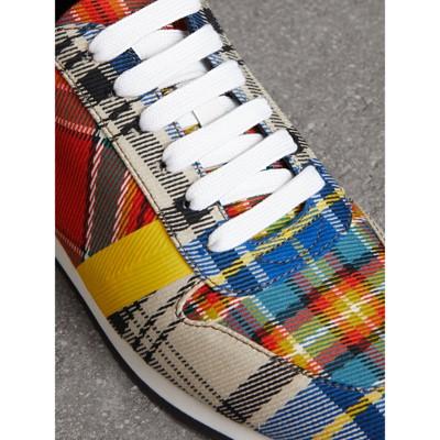 Burberry Tartan Cotton Sneakers xfR0vZ2K