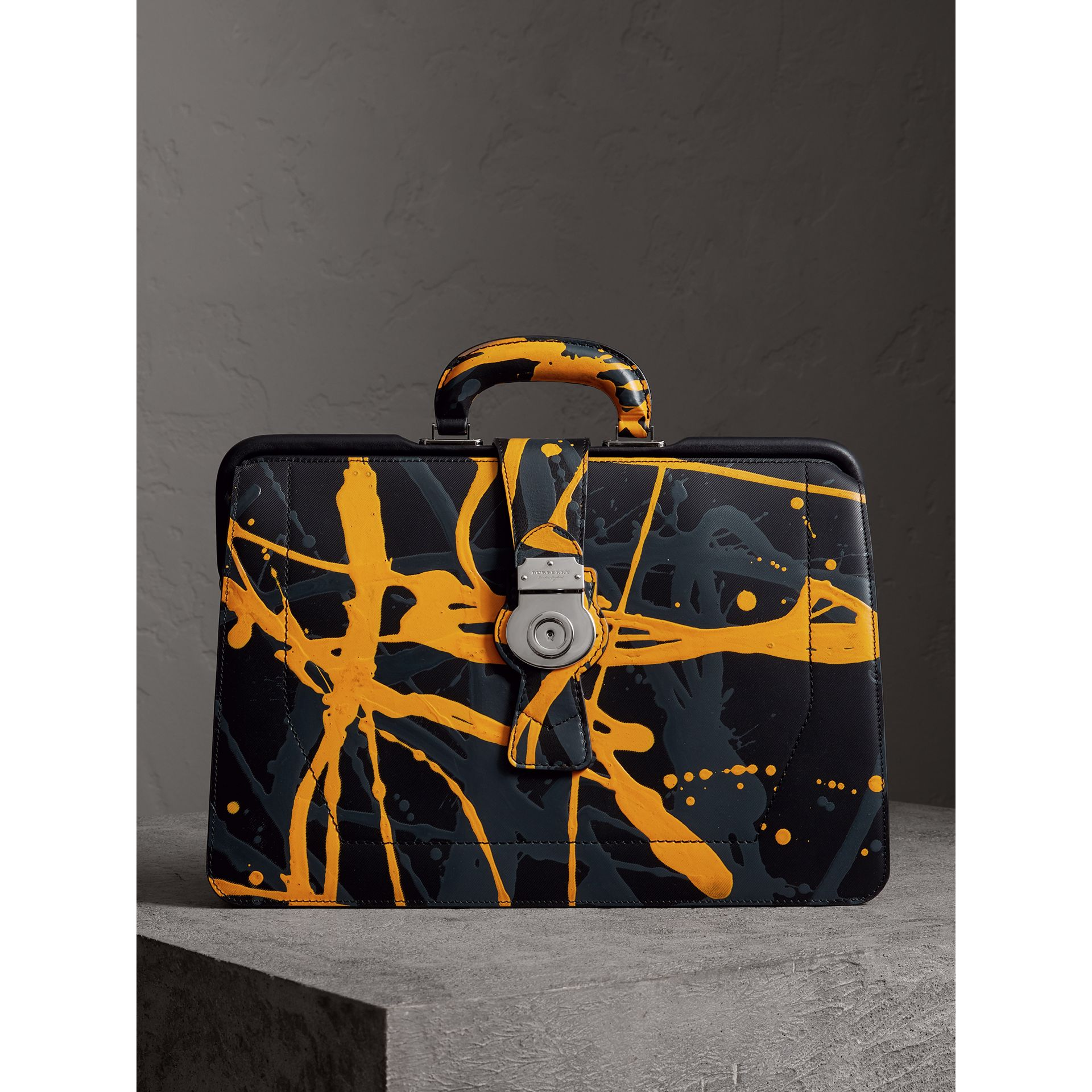 The DK88 Splash Doctor's Bag in Black/splash - Men | Burberry United Kingdom - gallery image 1