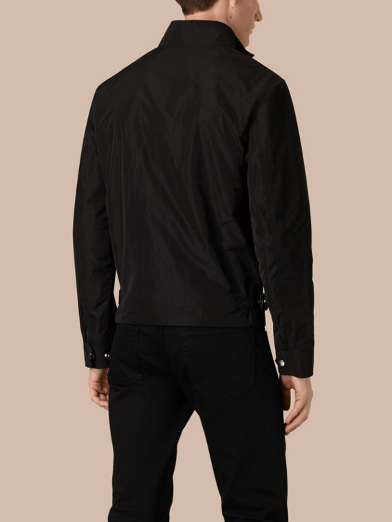 Black Lightweight Technical Jacket Black - cell image 2