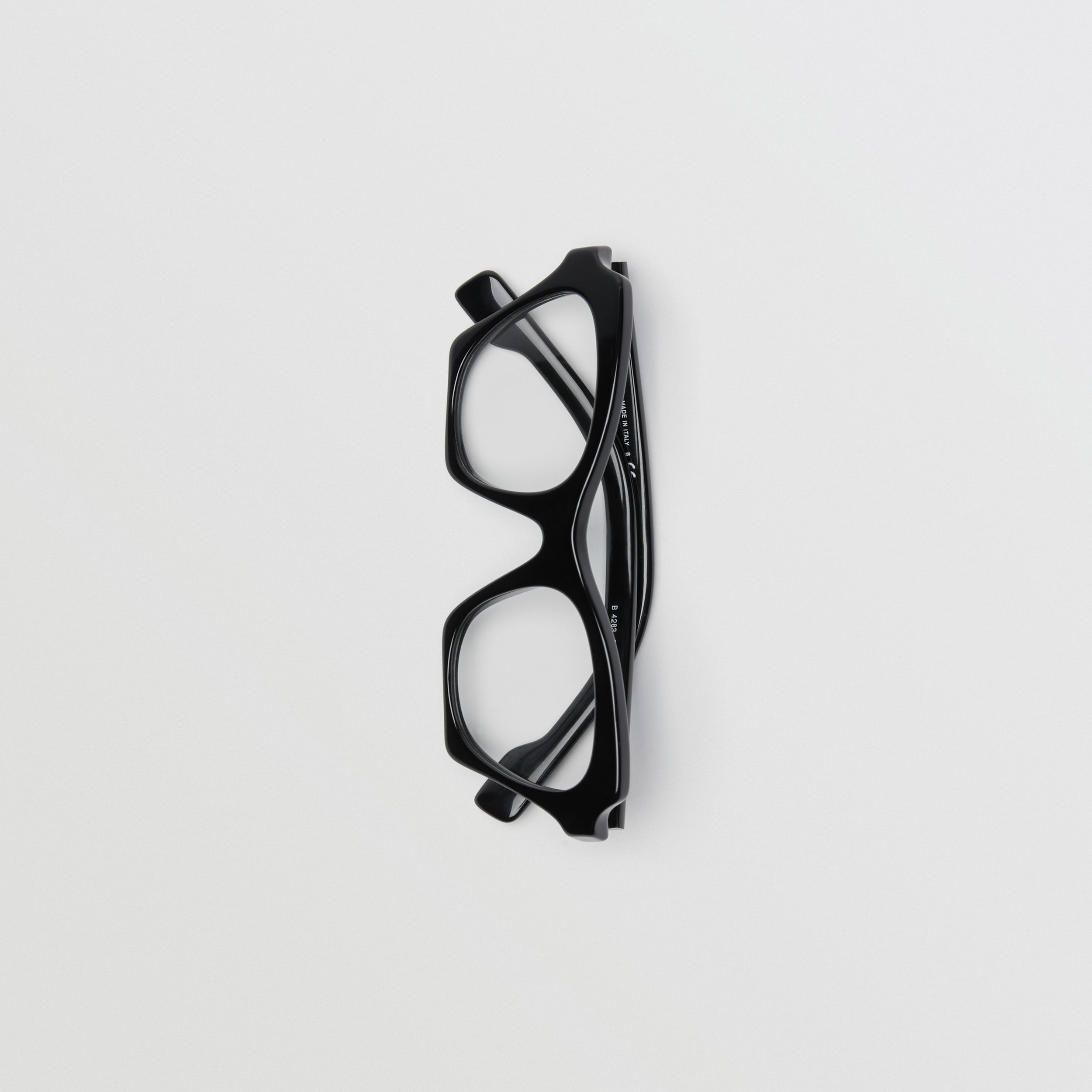 Butterfly Optical Frames in Black - Women | Burberry United Kingdom - 4