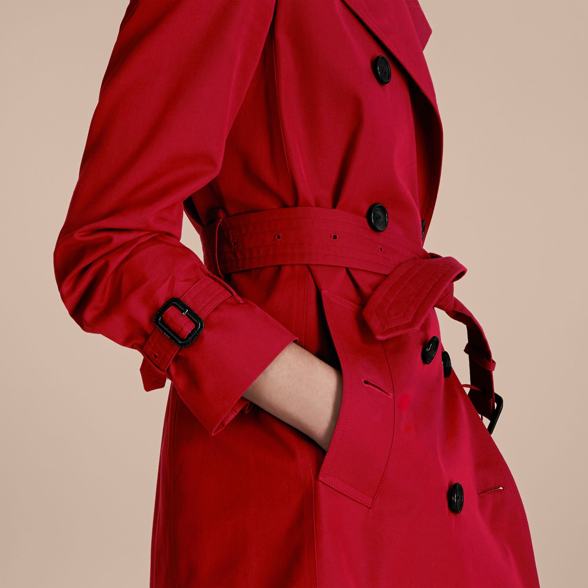 Parade red The Kensington - Trench coat Heritage longo Parade Red - galeria de imagens 5