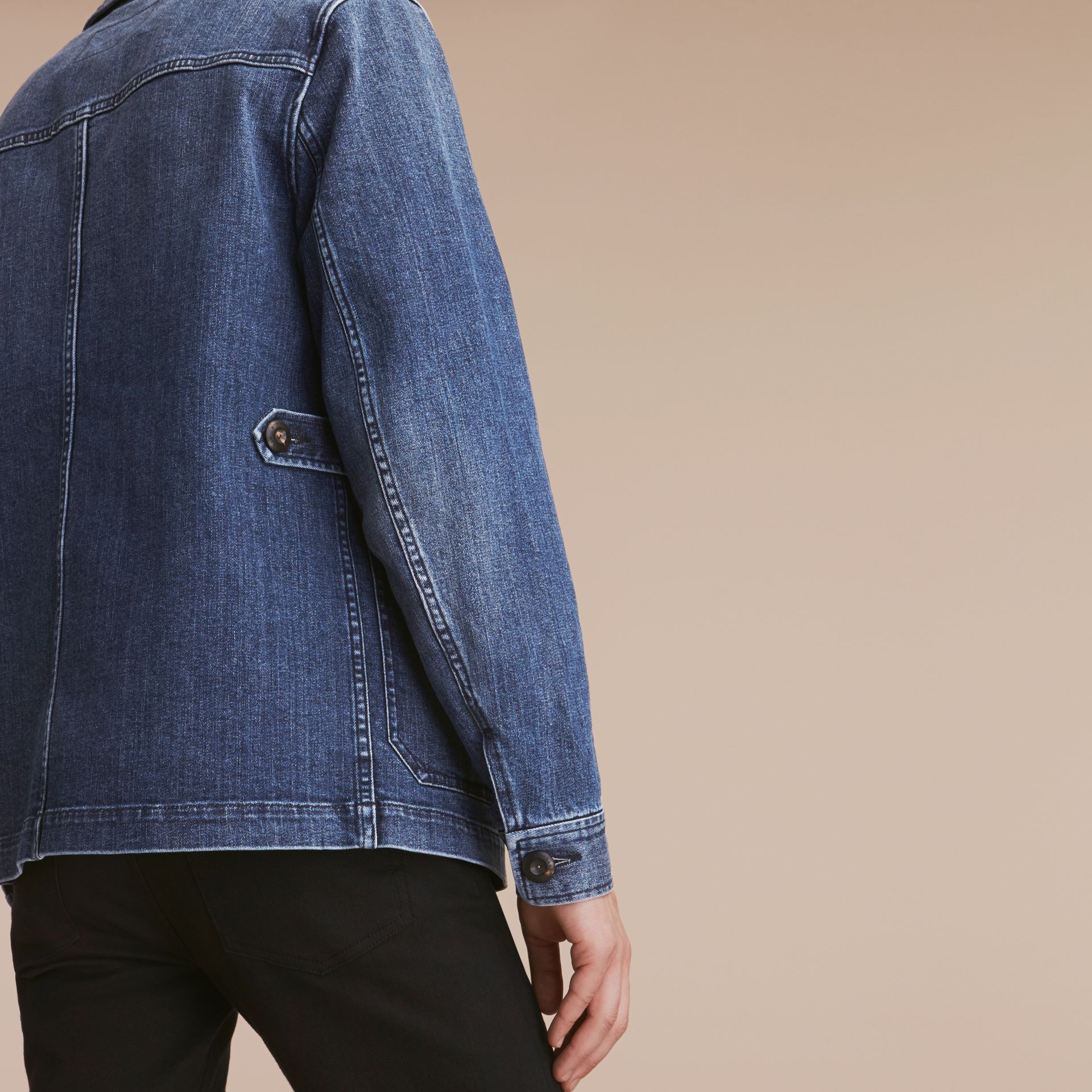 Denim Workwear Jacket - gallery image 6