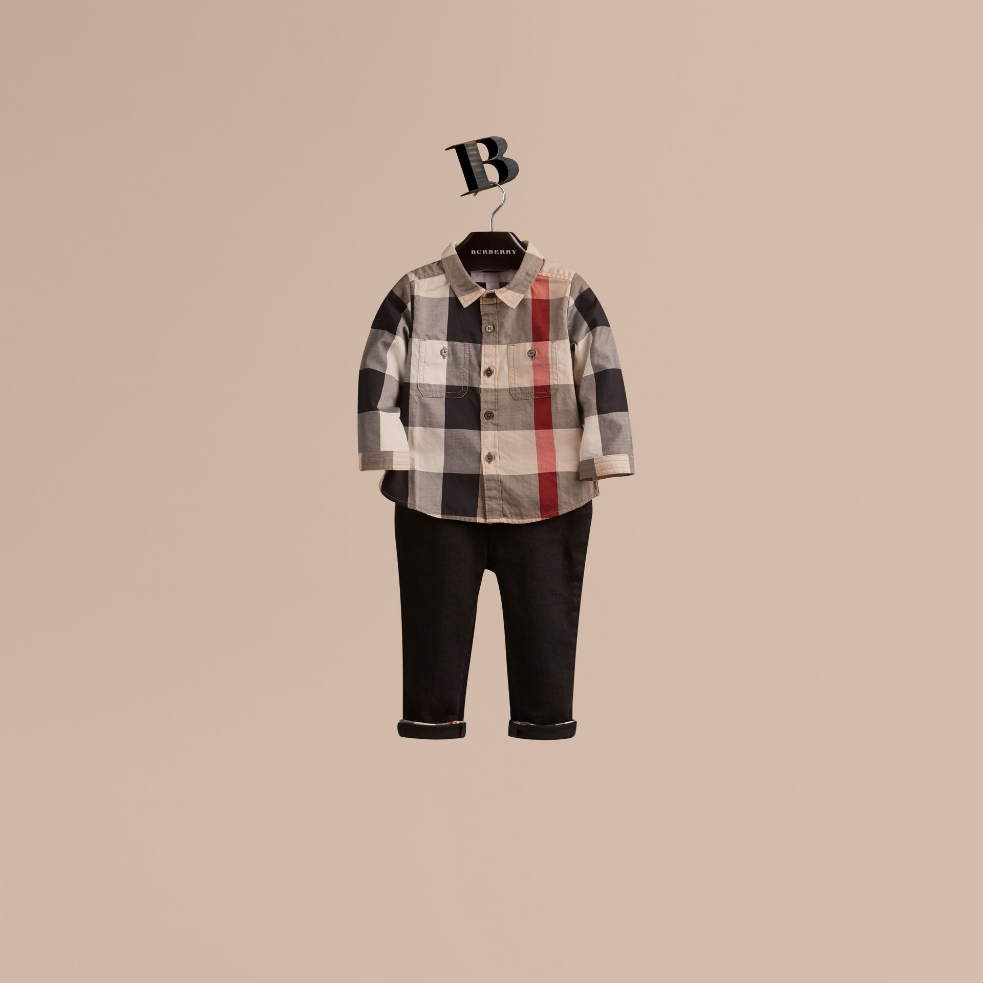 New classic check Check Cotton Shirt New Classic - gallery image 1