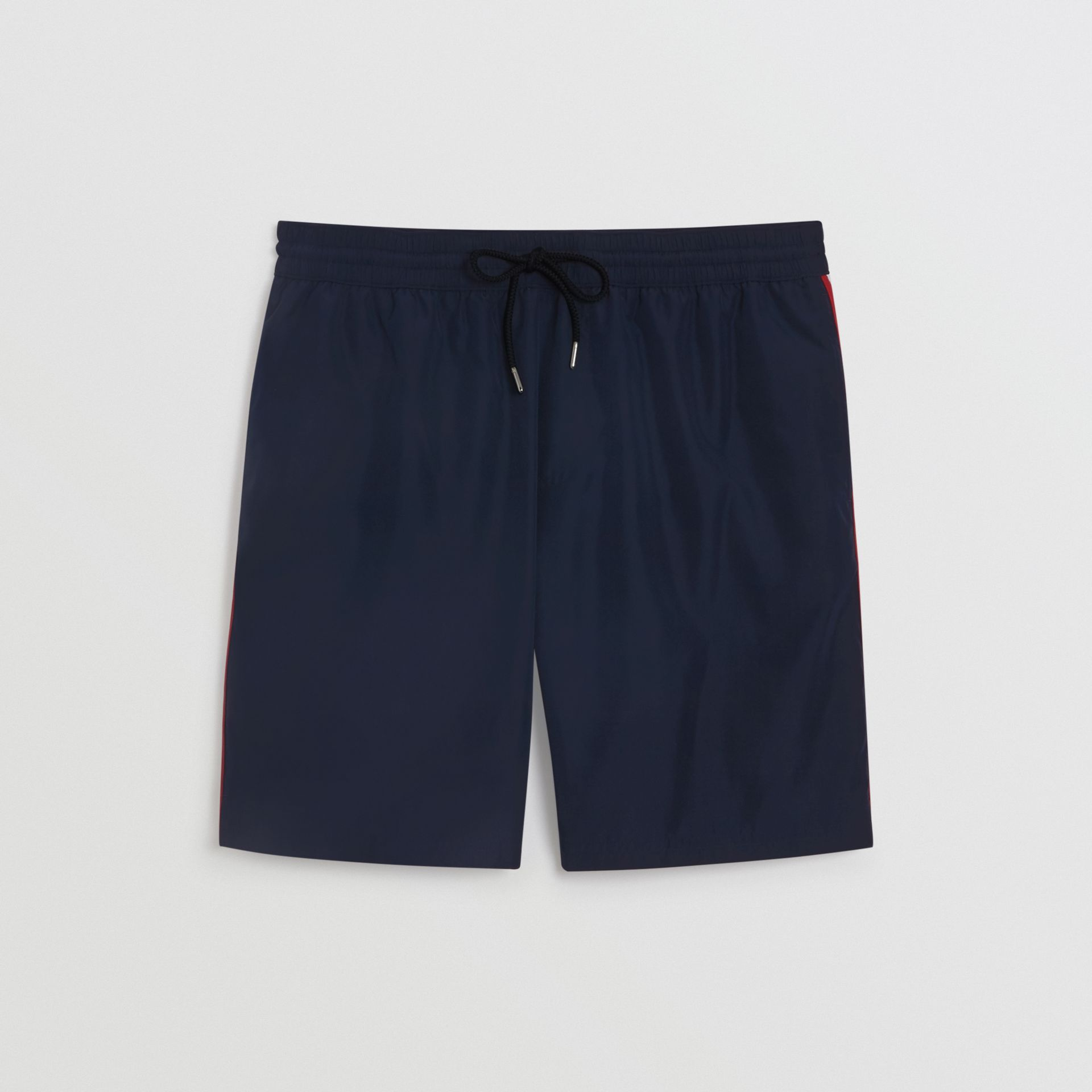 Drawcord Swim Shorts in Navy - Men | Burberry Hong Kong - gallery image 3
