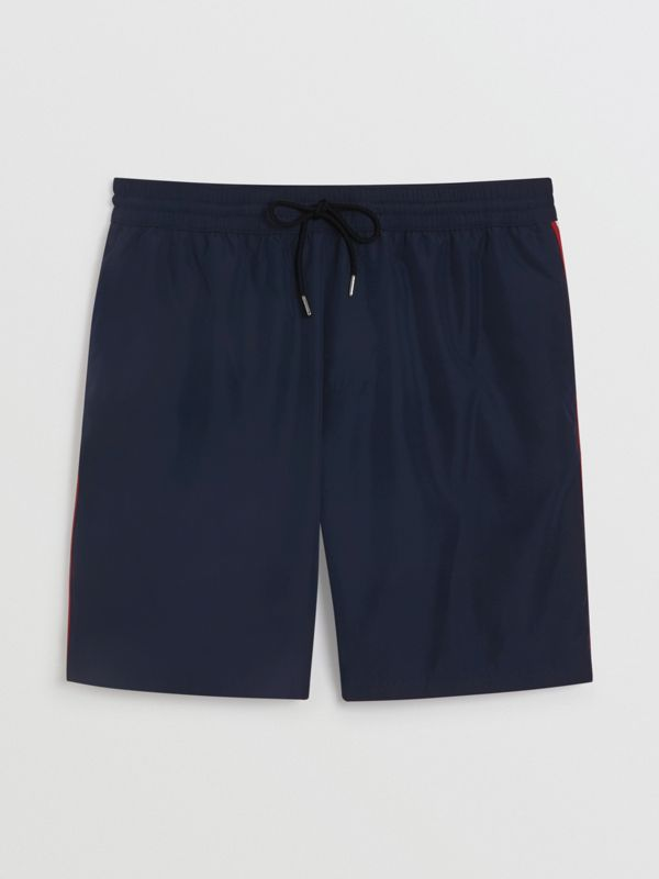 Drawcord Swim Shorts in Navy - Men | Burberry United Kingdom - cell image 3