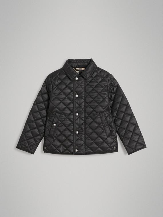 Jaqueta em matelassê (Preto)