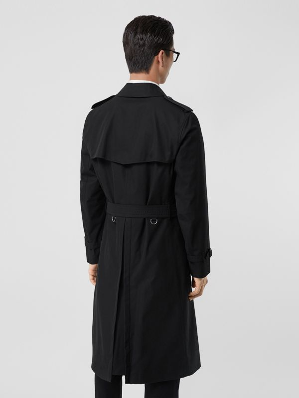 The Long Chelsea Heritage Trench Coat in Black - Men | Burberry Canada - cell image 2