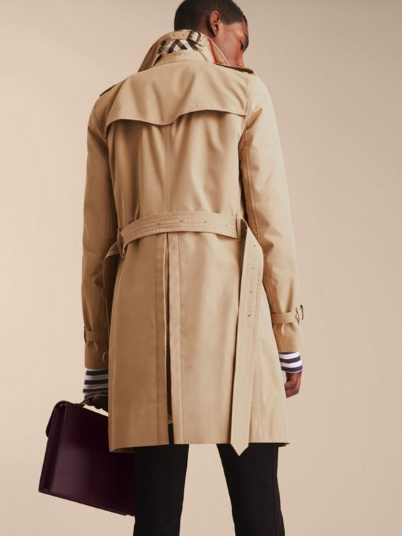 Honey The Sandringham – Long Heritage Trench Coat Honey - cell image 3