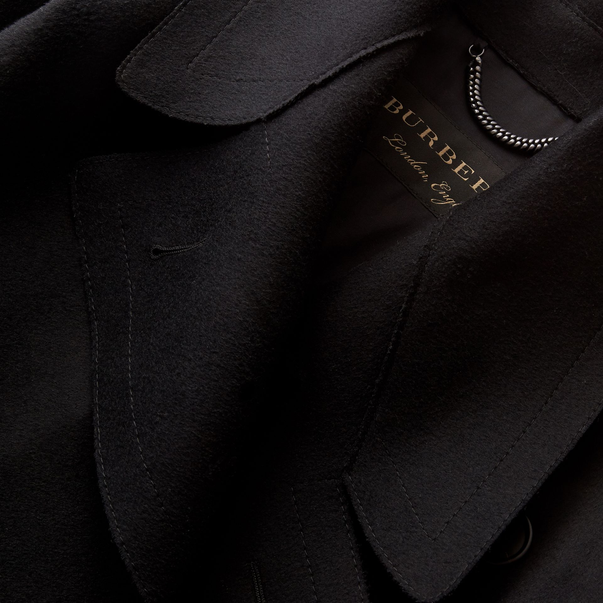 Double-faced Wool Asymmetric Coat - Women | Burberry - gallery image 2