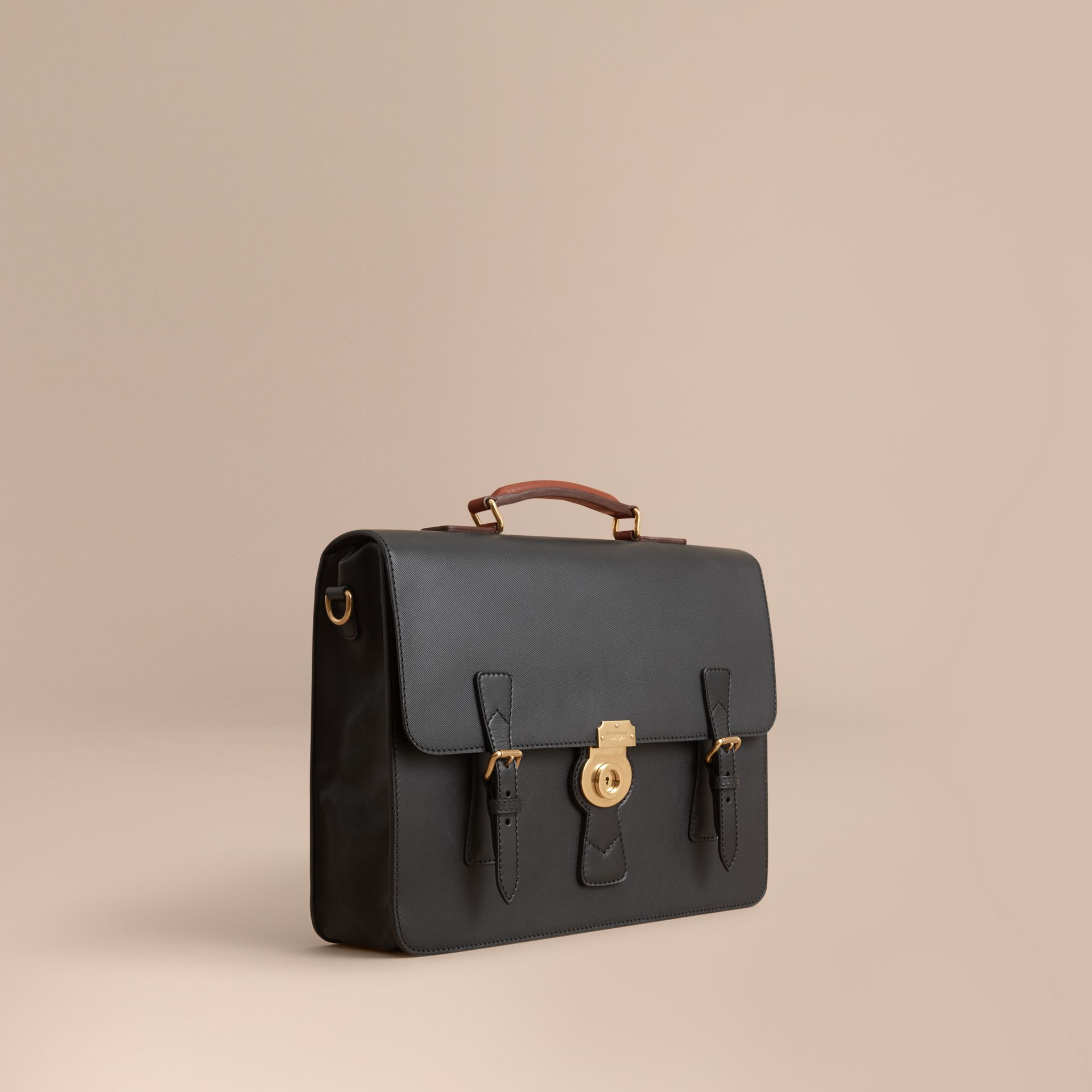 The Medium DK88 Satchel Black - gallery image 1