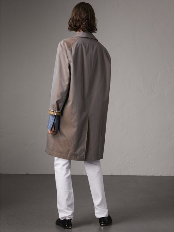 The Camden – Long Car Coat in Lilac Grey - Women | Burberry Canada - cell image 2