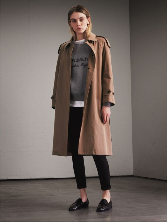 Tropical Gabardine Trench Coat - Women | Burberry