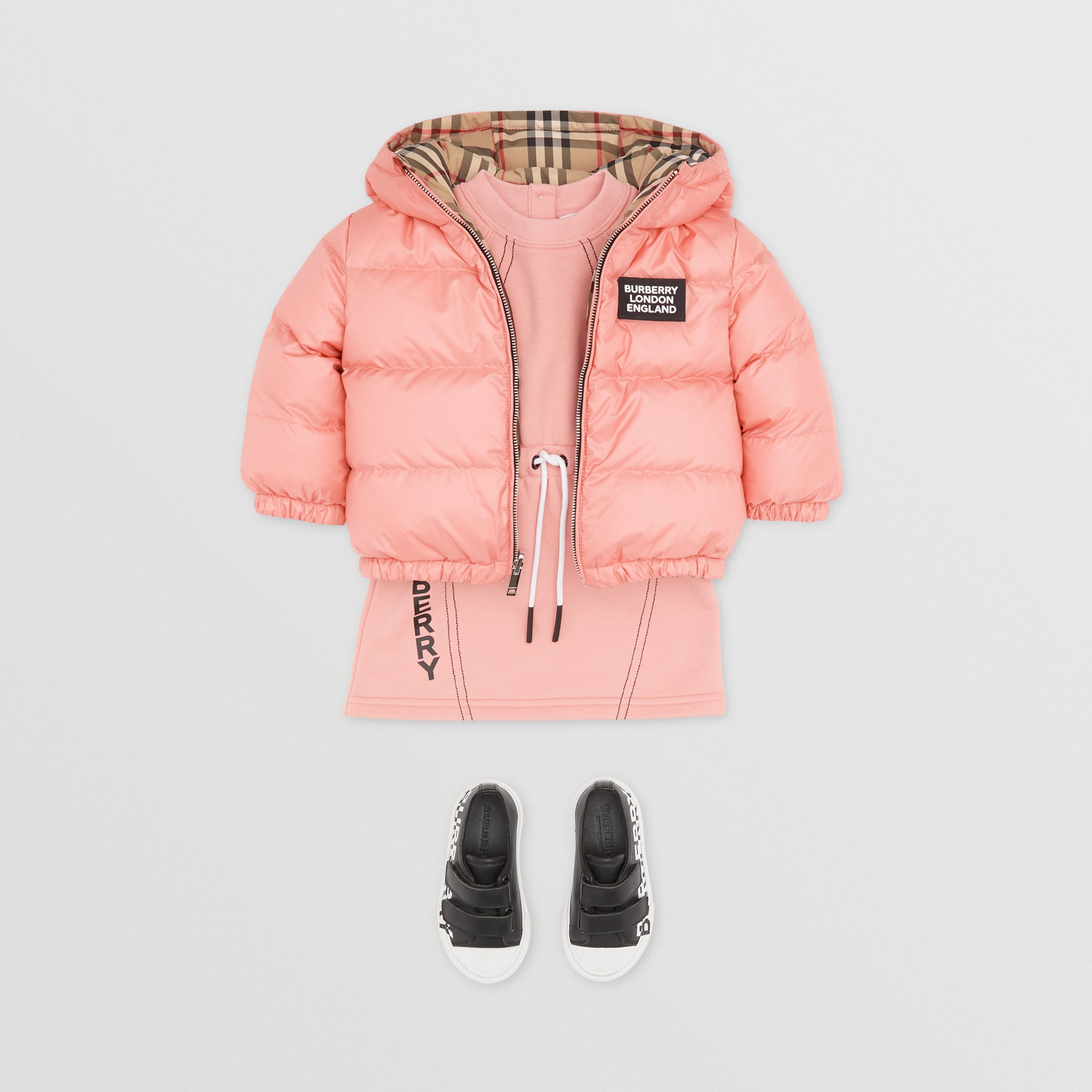 Reversible Vintage Check Puffer Jacket - Children | Burberry - 3