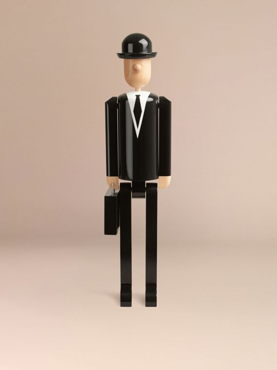 Multicolour The City Gent Limited Edition Wooden Puppet - cell image 3