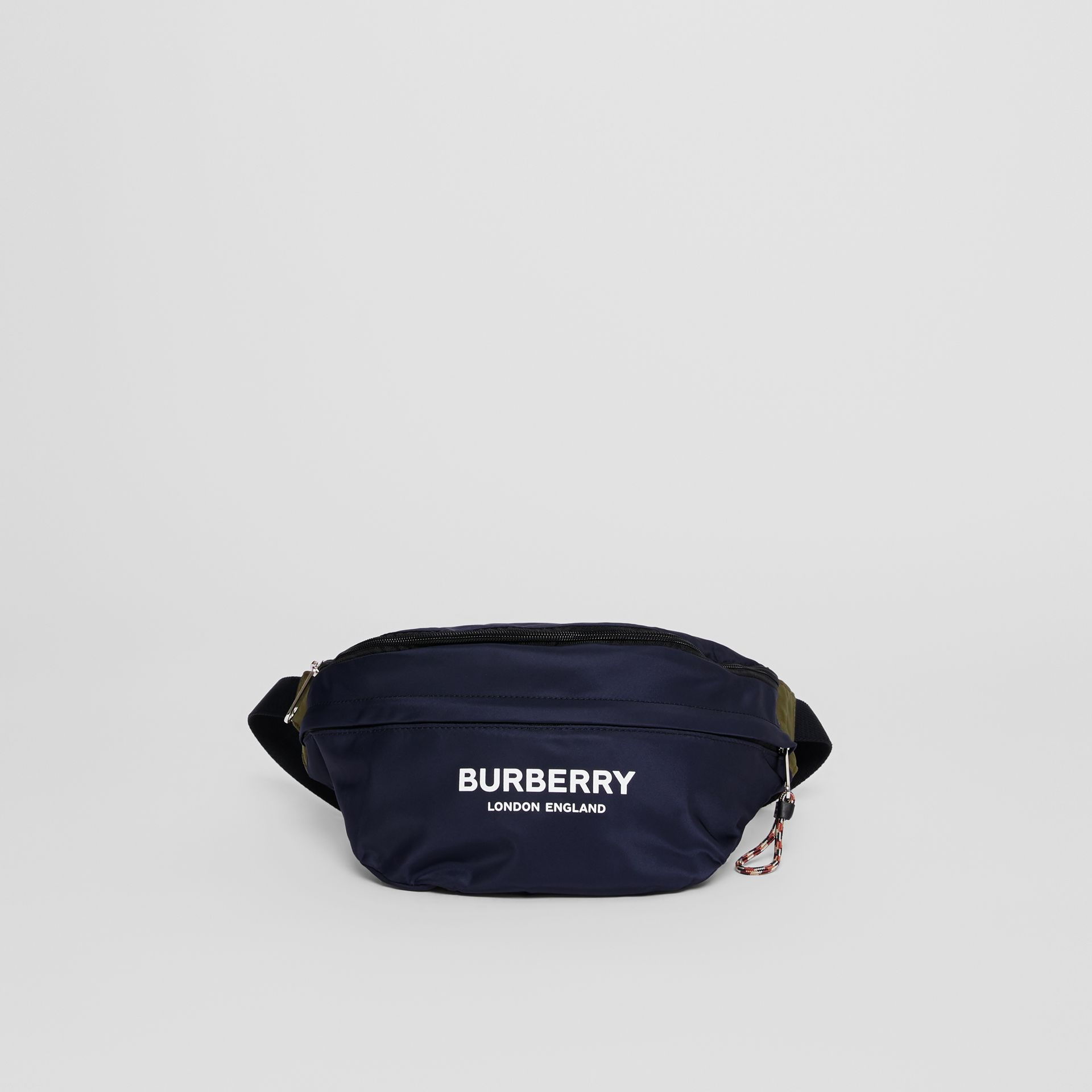 Logo Print Two-tone Convertible Bum Bag in Regency Blue - Children | Burberry United Kingdom - gallery image 6