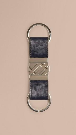 London Leather Valet Key Ring