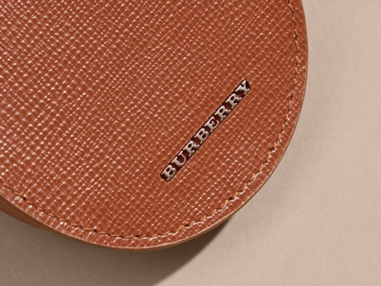 London Leather Coin Case in Burnt Sienna - cell image 1