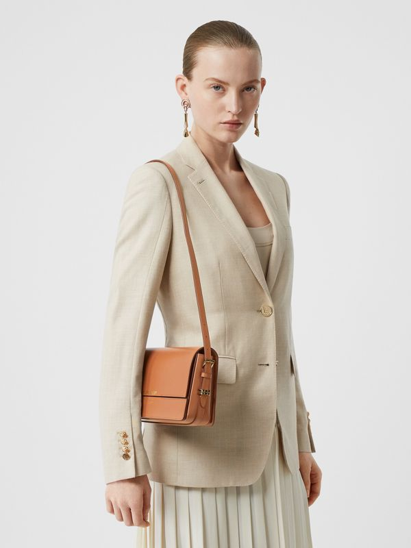 Mini Leather Grace Bag in Nutmeg - Women | Burberry United Kingdom - cell image 2