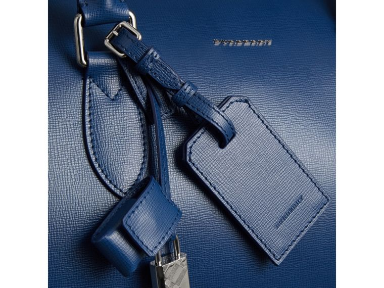 Borsone in pelle London (Blu Bruno) - Uomo | Burberry - cell image 1