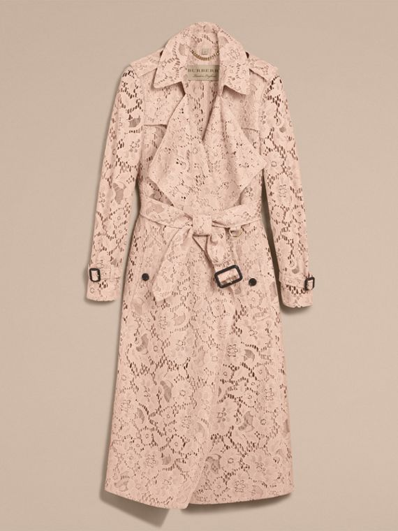 Macramé Lace Wrap Trench Coat - Women | Burberry - cell image 3