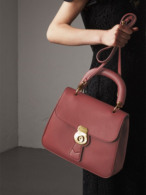 The Medium DK88 Top Handle Bag in Antique Red - Women | Burberry - cell image 3