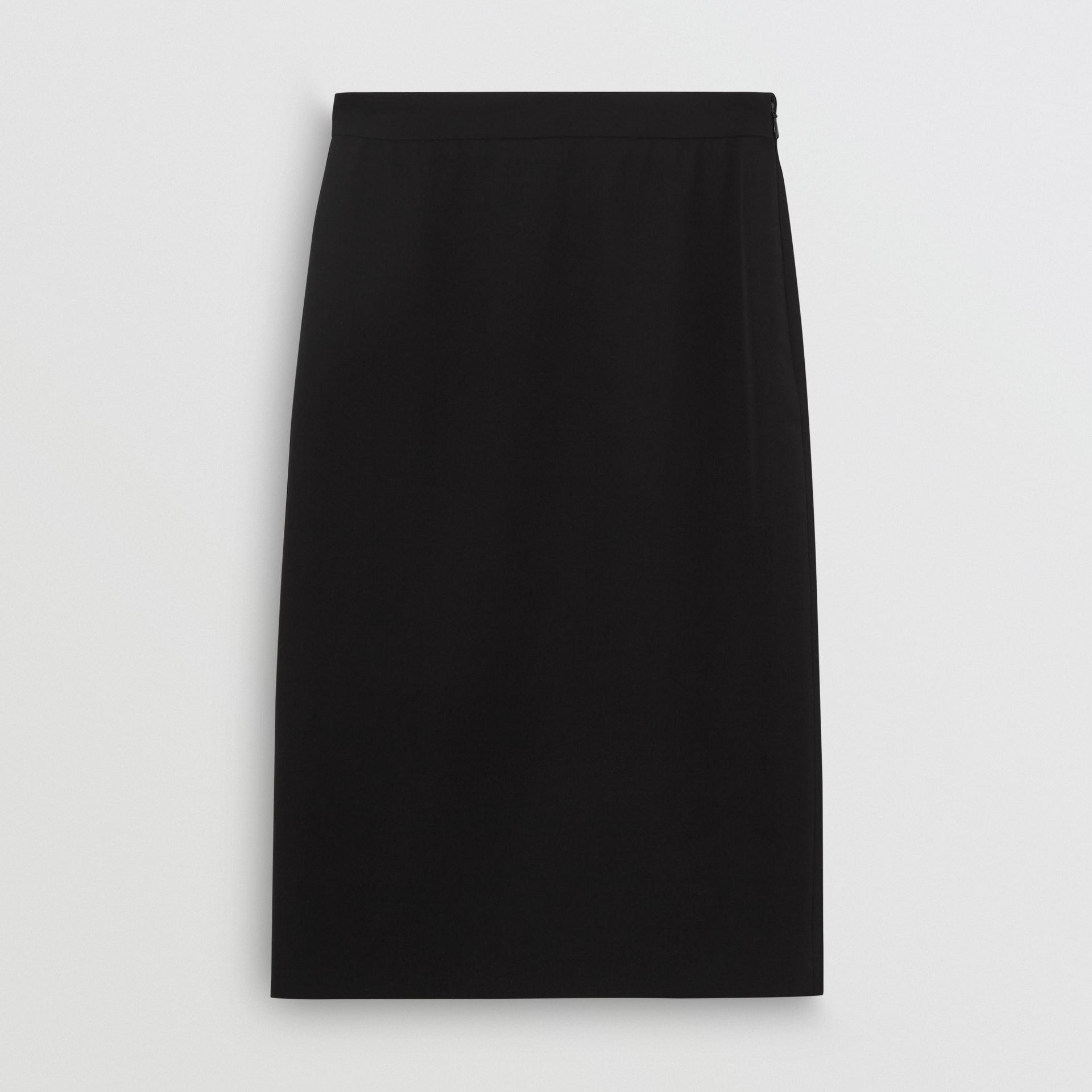 Wool High-waisted Pencil Skirt in Black - Women | Burberry Hong Kong - gallery image 3