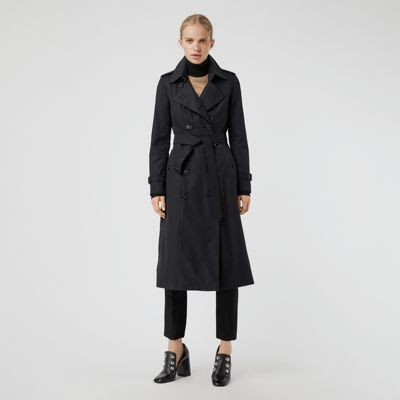 the long chelsea heritage trench coat in midnight women united kingdom 836130b93cfb0