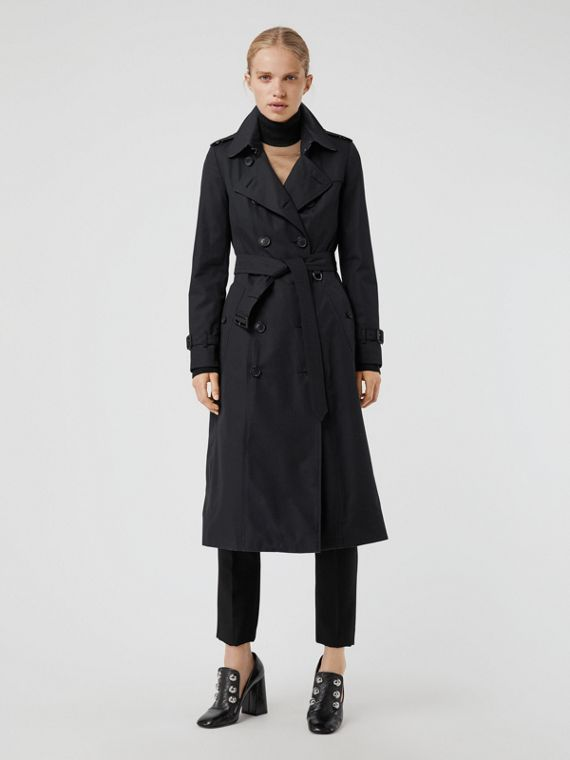 6702a6e6810df The Long Chelsea Heritage Trench Coat in Midnight