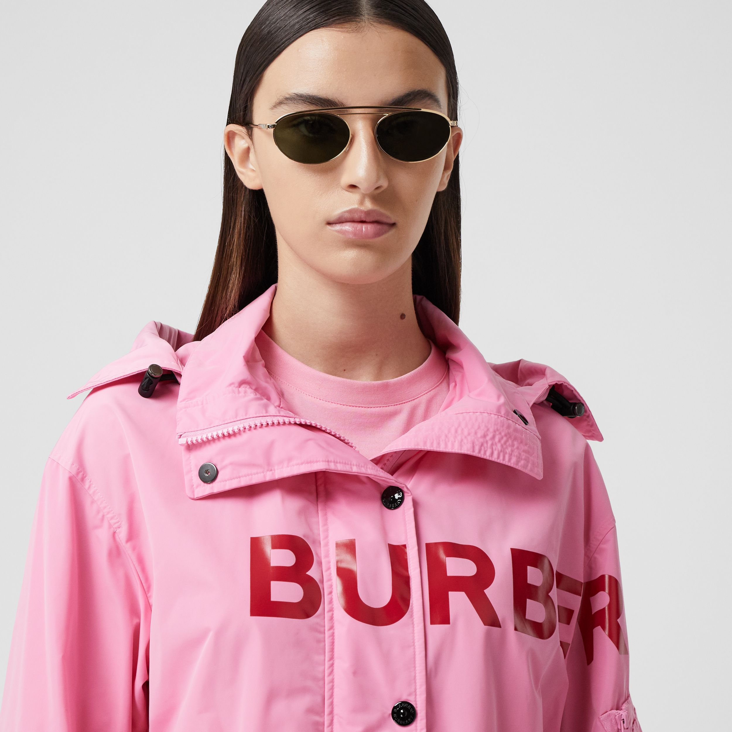 Horseferry Print Shape-memory Taffeta Parka - Women | Burberry - 2