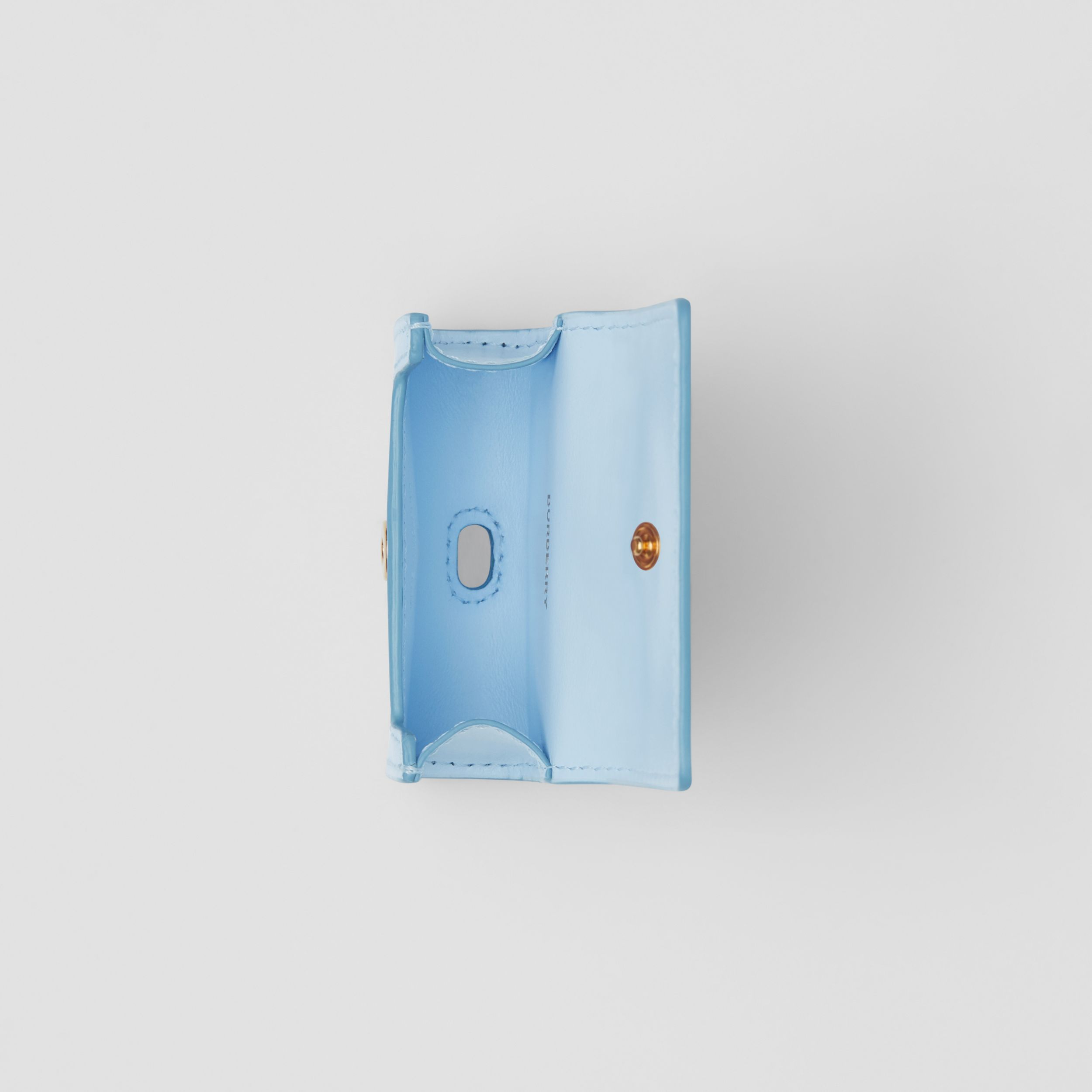 Leather AirPods Pro Case in Pale Blue | Burberry United States - 3