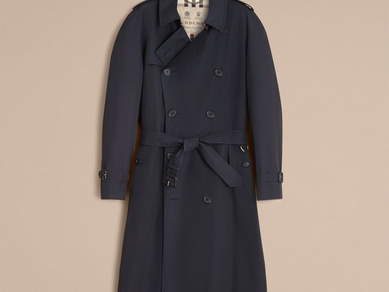 Navy The Westminster – Long Heritage Trench Coat Navy - cell image 4